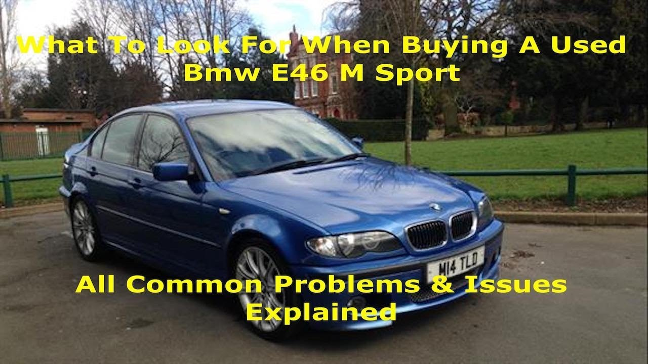 Download What To Look For When Buying a Used BMW E46 M Sport