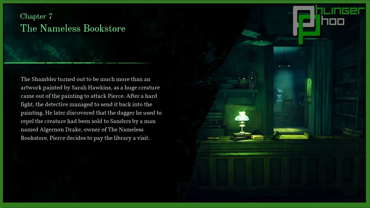 Call of Cthulhu - Inside the Occult Bookstore
