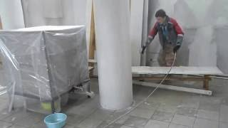 безвоздушная покраска омск