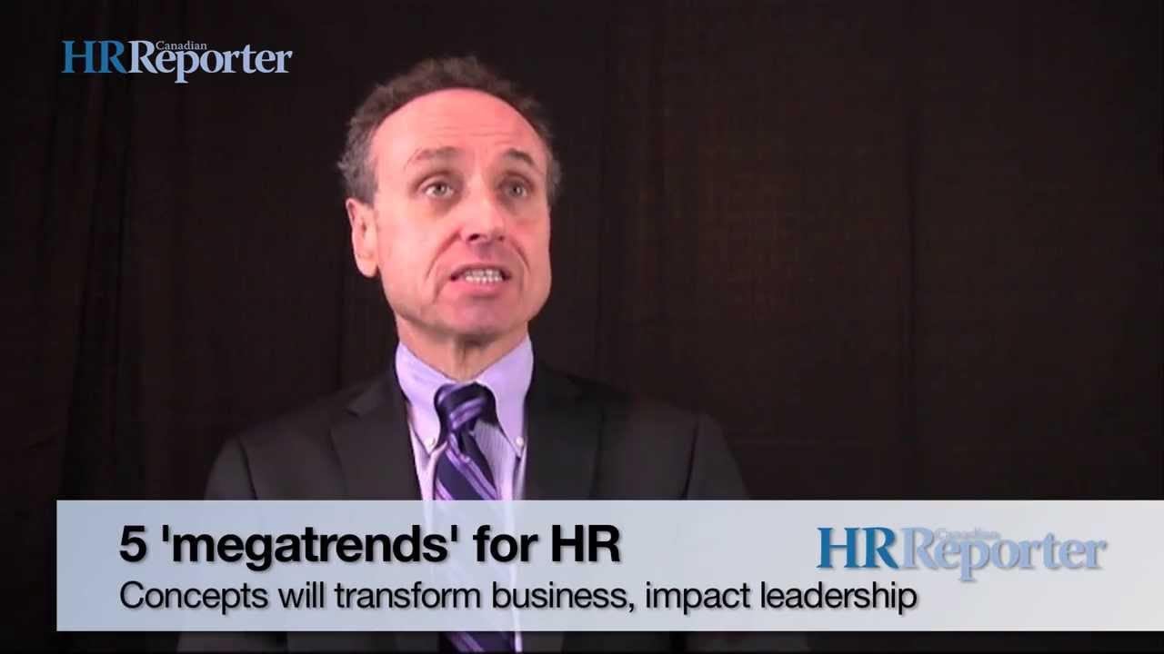 5 'megatrends' for HR leaders