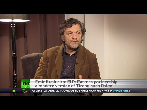 Kusturica: Why does NATO still exist? To fight terrorism? It's laughable!