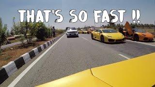 High Speed Chase   Lamborghini Huracan GoPro POV | #129