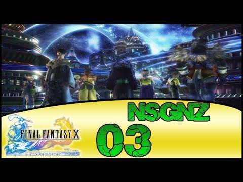 Final Fantasy X HD Remaster - Reto NSGNZ | Capitulo 3 # Kilika