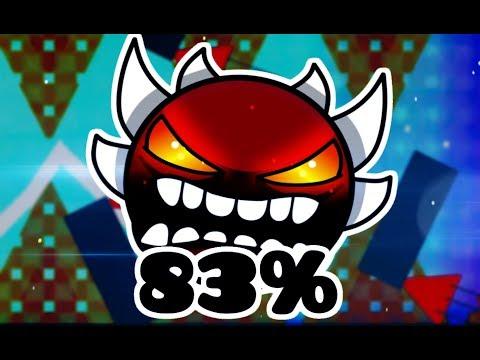 """MLG Circles"" 83% (Extreme Demon)   Geometry Dash"