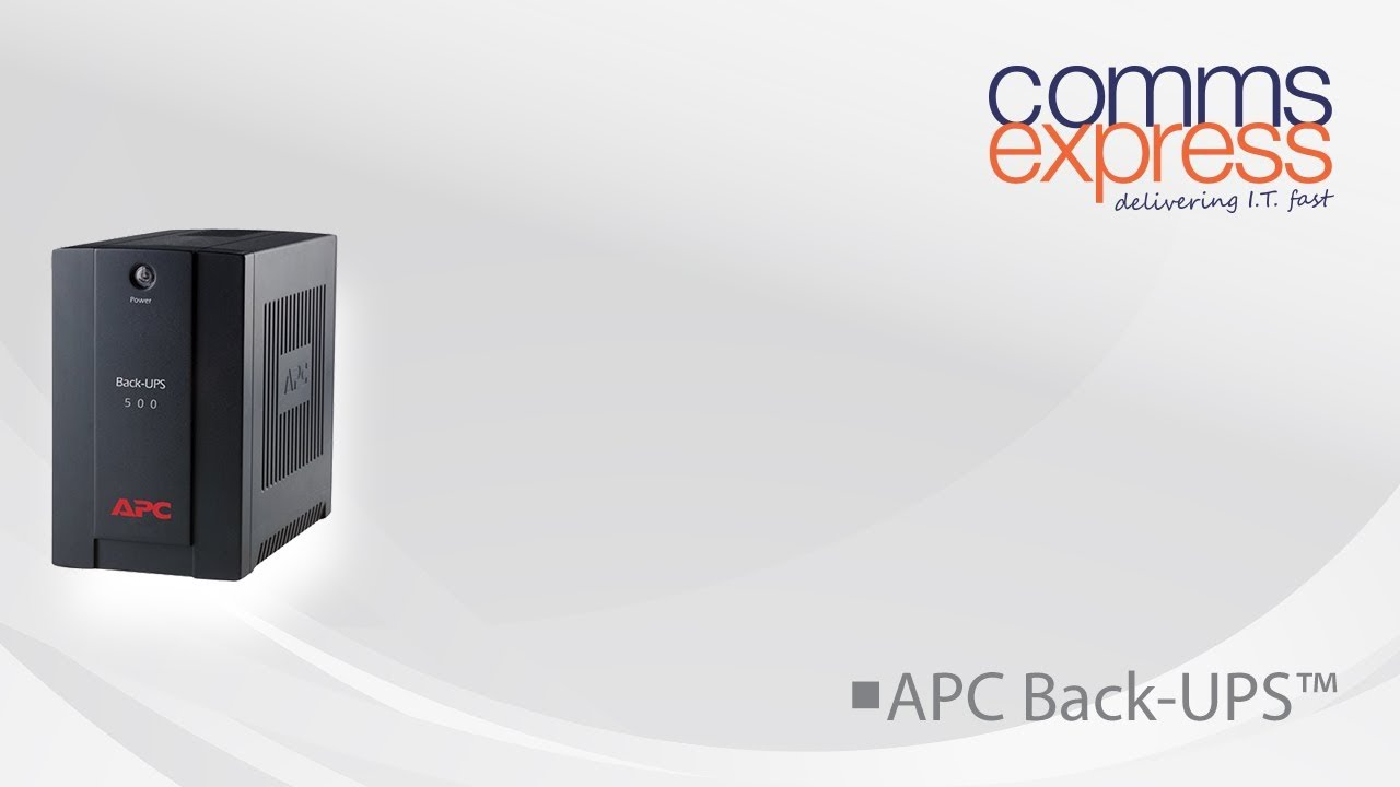 APC BX700UI Back-UPS 700VA - Tower | Comms Express