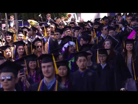 2017 University of Washington Commencement Ceremony