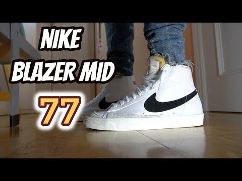 Simples y con mucho estilo!✅NIKE BLAZER MID 77 OG (Comparamos el modelo OG con el modelo OFF WHITE!)