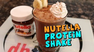 Nutella Protein Shake Recipe