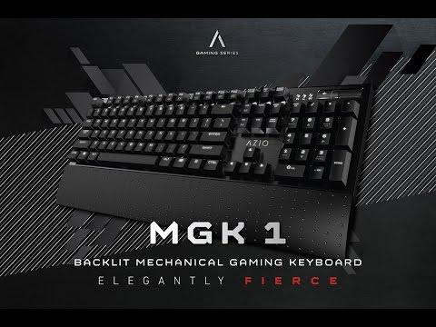 Azio Backlit Mechanical Gaming Keyboard MGK1-K Review