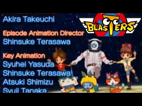 Yo-kai Watch Blasters — Full Ending Credits! Space Dance English Full Song