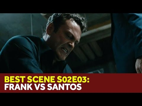 True Detective 2x03 - Frank Semyon Beats Up Danny Santos - 'Maybe Tomorrow'