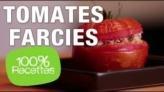 100% recettes - Tomates farcies légères