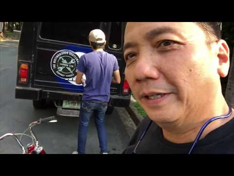 Laguna Choppers delivers a Honda Mini Trail to Richard Gomez