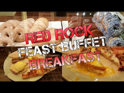 Red Rock Las Vegas Breakfast Buffet Tour