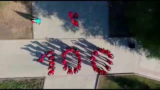 Флешмоб посвященный 100-летию победы Великой Октябрьской революции