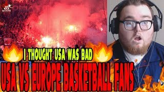 THIS IS INSANE!! | USA VS EUROPE BASKETBALL ATMOSPHERE REACTION!!!