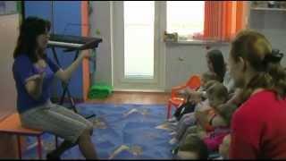Музыка + ритмика для детей от 1 до 4 лет.