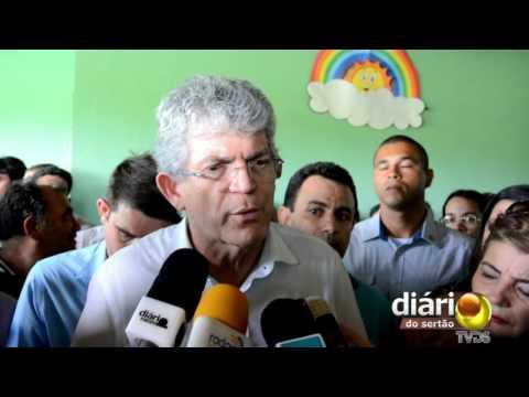 Ricardo Coutinho reafirma nome de Cida Ramos como candidata a prefeita de João Pessoa