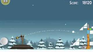 Angry Birds Seasons 1-20- Seasons Greedings day 20 3 stars level 1-20 walkthrough gameplay tutorial