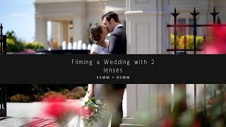 Filming A Wedding With 2 Lenses - 35mm + 85mm - Payson Utah Temple Wedding Film