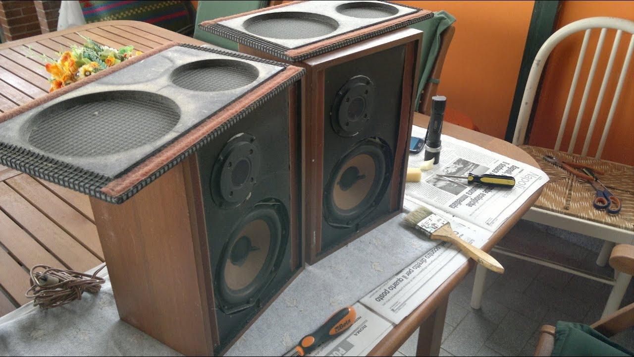 minerva box hifi a 30 vintage speakers test jazz youtube. Black Bedroom Furniture Sets. Home Design Ideas