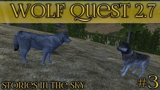 A Moonlit Meeting of Wolves 🐺 Wolf Quest 2.7 - Stories in the Sky || Episode #3