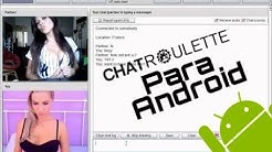 Chatroulette para android enero 2018