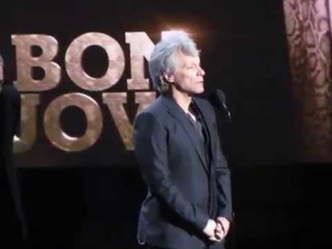 2018 Rock & Roll Hall of Fame BON JOVI Complete Induction Speech
