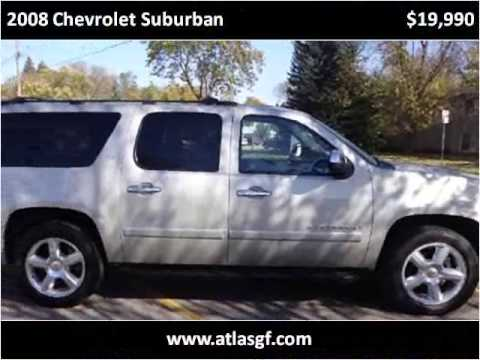 2008 Chevrolet Suburban Used Cars Grand Forks ND - YouTube