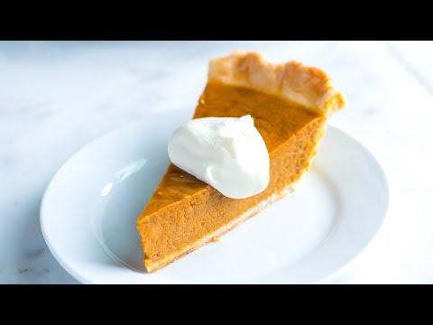 No Fail, Homemade Pumpkin Pie Recipe  - How To Make Pumpkin Pie From Scratch
