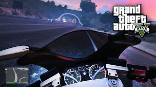 GTA5:  First Person Motorcycle Customization And Adventure    (Funny Times In Free-Roam Ep.7)
