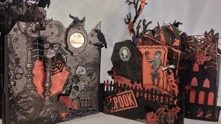 Recollections Castle Halloween Mini Album