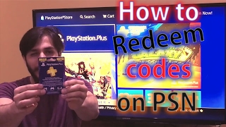 PS4-How to redeem code on PSN/PSN PLUS subscription Tutorial thumbnail