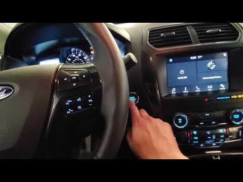 2019 Ford Explorer Tire Pressure Sensor Reset Procedure