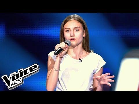 Pola Deptuła - 'Rather Be' - Przesłuchania w ciemno - The Voice Kids 2 Poland