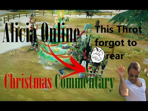 Alicia Online - Christmas Commentary 2017 *Trigger Warning* !!! Part 1
