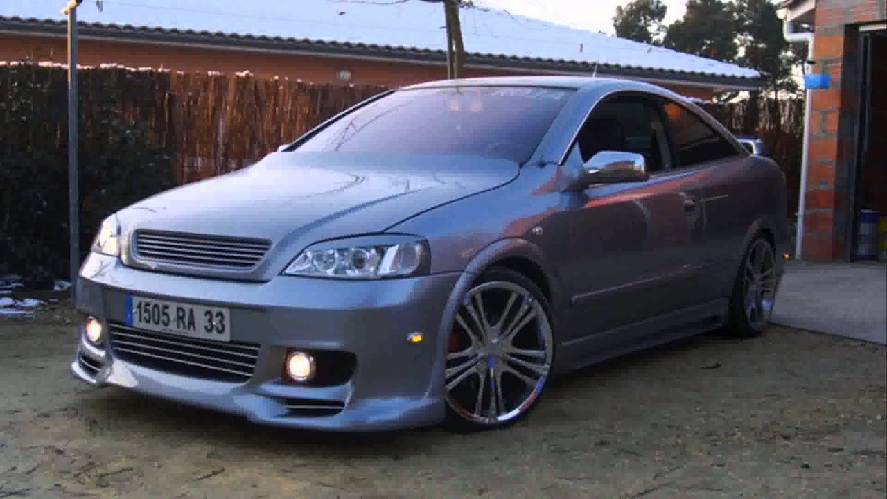opel astra g tuning projects - YouTube