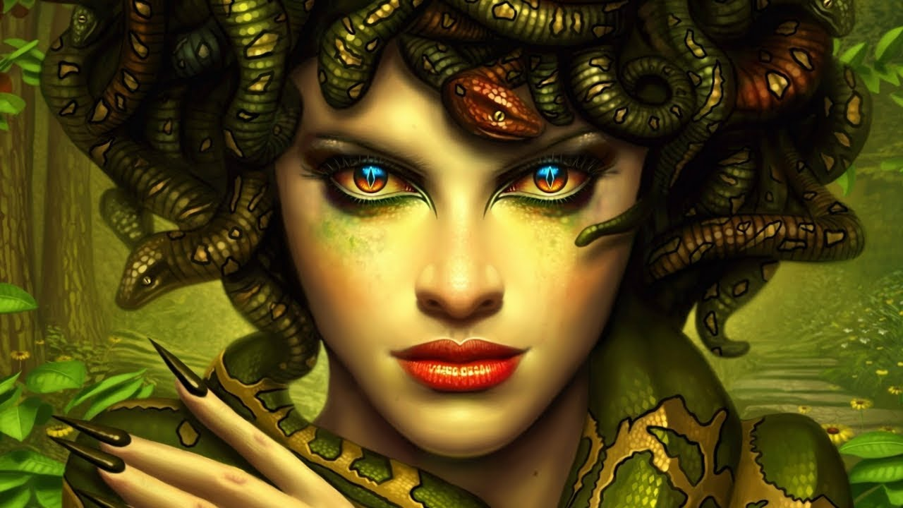 Download The Story Of Medusa - Greek Mythology Explained