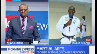 Martial arts is beneficial for mental and spiritual development