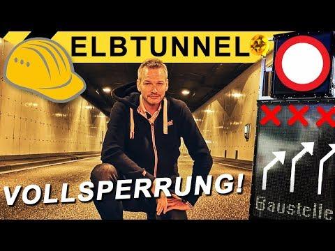 Elbtunnel Vollsperrung - so wird's gemacht! | Zeppelin Rental ON THE JOB