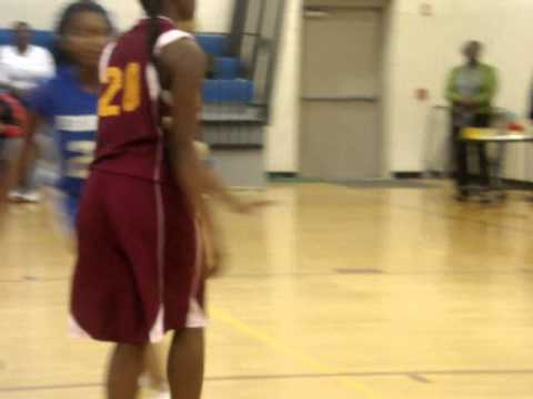 JC -Hemingway Middle School BB game.