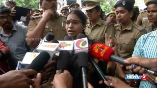 Ki Veeralakshmi slams actor Vishal and Karnataka over Cauvery water dispute | News7 Tamil