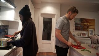 HUSBAND AND WIFE COOK OFF! BritpopVlogs