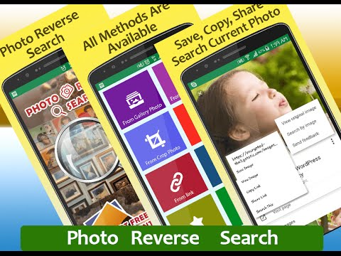 Photo Reverse Search Android Mobile Application