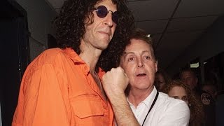 Paul McCartney STABS Howard Stern In The BACK!!