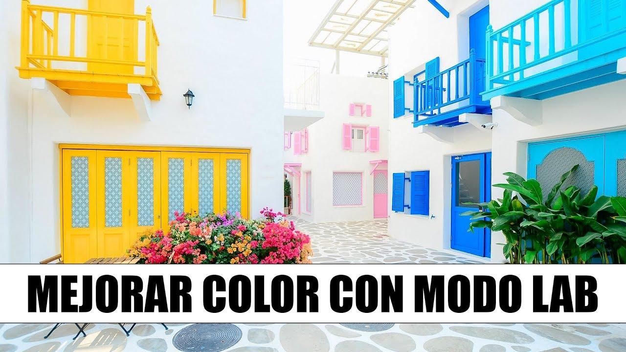 Como aumentar el color en photoshop