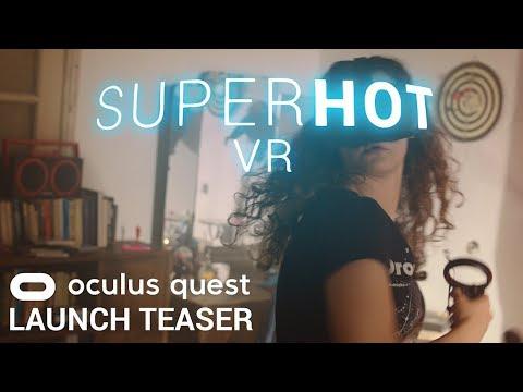 SUPERHOT VR for the Oculus Quest - SUPERHOT