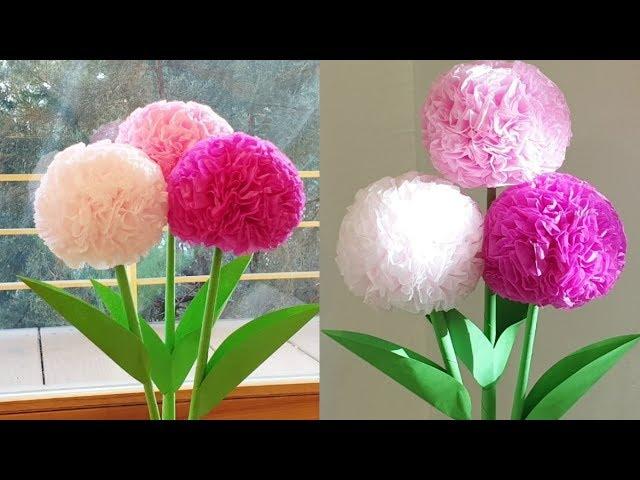Round tissue paper flower diy handmade craft easy and simple round tissue paper flower diy handmade craft easy and simple flower mightylinksfo