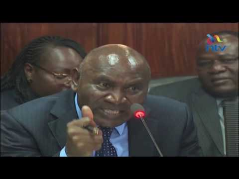 Auditing the auditor-general; MPs question Edward Ouko