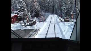 Cab Ride on the Bernina Railway; Part 1: St. Moritz to Bernina Diavolezza